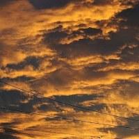 夕焼け雲・・・☆