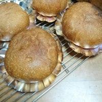 半分のりんごパン