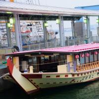 神戸ハーバーランドの観光船