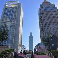 違う所から見た「台北101」