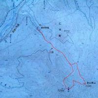 スキーとボードの山・・・恵比寿山(723m)~大黒山(725m)