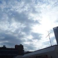 東京の今朝の天気(10月23日):晴れ?