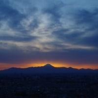 「後光差す富士山」って!?その写真を転載して公開してます