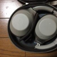 ソニーのノイズキャンセリングヘッドホンMDR-1000Xを購入