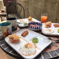 #1554 帰省と優雅な朝食