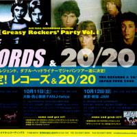 レコーズ & 20/20 ジャパン・ツアー   チケットぴあ/ローソンチケット発売開始