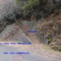 香川県・女体山にての無線運用の様子