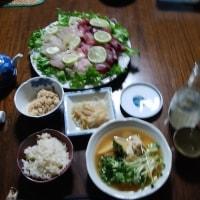 続春を満喫 !! 桜鯛初鰹+熱燗 !!!