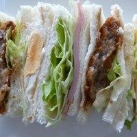 サンドイッチ・・・♪