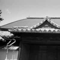小比賀家住宅の大玄関 昭和