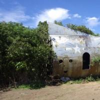 2016年小笠原村硫黄島慰霊墓参(10)今回初めて行った場所(8)B-29残骸(2)