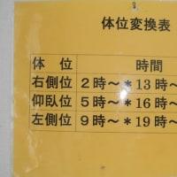 体位交換表(+長男の単独介護日記)の巻