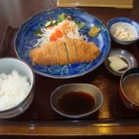 スタミナ付けるぜ・いち源・餃子トンカツ定食