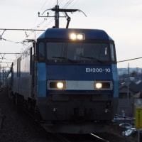 2017年3月24日,今朝の中央線 81レ EH200-10