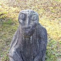 キトラ四神の館と飛鳥資料館の石造物