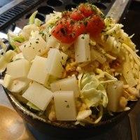笠間市プラチナパスポート2㉕あっちっち「もち明太チーズもんじゃ焼き」