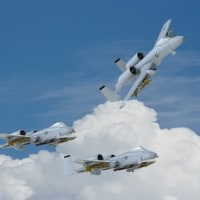 A-10サンダーボルトⅡ攻撃機の3Dモデルをアップします!