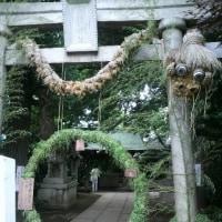 奥沢神社茅の輪くぐり
