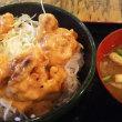 まんぷく食堂 習志野 大久保 マヨ唐揚げ丼 食べ放題 600円