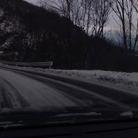 マイナス9℃、積雪10cm、冬本番の蓼科。