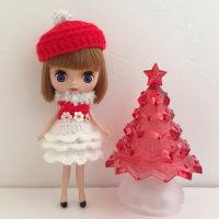 ココアバター★クリスマスカラーワンピ