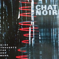 毛色が変わってきた NINE THOUGHTS FOR ONE WORD  /  CHAT NOIR