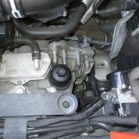 AUDI TT/8Jのオイル交換