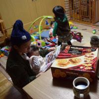 幸せの輪♪ミモザリースとピクニックプレート♪