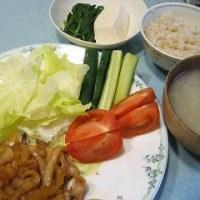 11/24(金)*豚の生姜焼き*