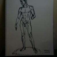 「 彫刻のための デッサン 」