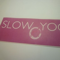 SLOW YOGA横浜市青葉区江田スタジオにて・・無料公開レッスン