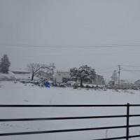 * snowy scene *