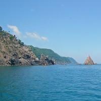 リアス式海岸の小浜のローカル海水浴場はおススメです!