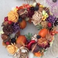 秋色リース