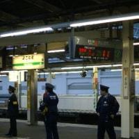 寝台急行「銀河」、上り最終列車を撮る。