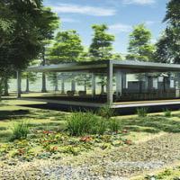 建築CGパース:住宅外観パース