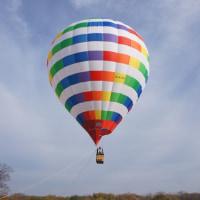 熱気球体験@かさだ広場