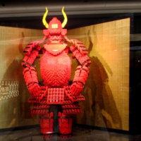 阪急三番街に飾ってあるレゴ作品