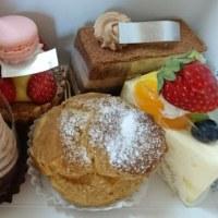 パティスリーレジュールウールーのケーキ