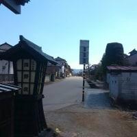 宿場町の雛壇
