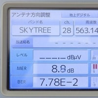 千葉県:船橋市前貝塚町にて、地デジ屋根裏アンテナ工事