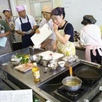 高丘コミセン 高年男性初級料理教室(夏に負けないスタミナメニュー)