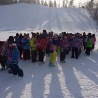 五年スキー授業