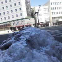長野は寒かった