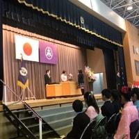 松沢小学校卒業式〜袴姿の児童(卒業生)は世田谷ならではの特徴でしょうか?