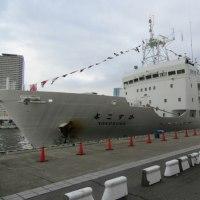 深海潜水調査船支援母船「よこすか」と深海巡行探査船「うらしま」&有人潜水調査船「しんかい6500」 on 2016-10-8