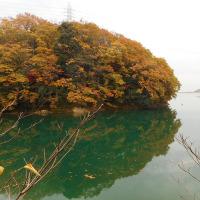 伊坂ダムの風景