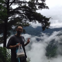 本部渓の山の上に行って来ました。