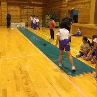5年生宿泊体験学習  スマートボーリング