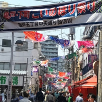 亀戸・下町こいのぼり祭り